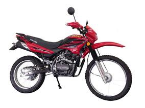 Moto Galardi Gl150br Año 2017 150cc Color Negro-rojo