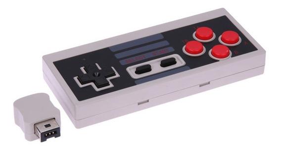 Nintendo Nes Manusear Vermelho E Branco Máquina Wii Manusear