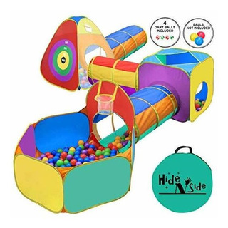 Gift For Toddler Boys & Girls, Ball Pit, Play Tent And Tunn