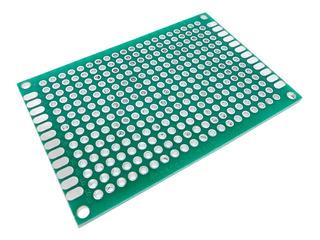 Placa Pcb Perforada Doble Capa 4x6cm