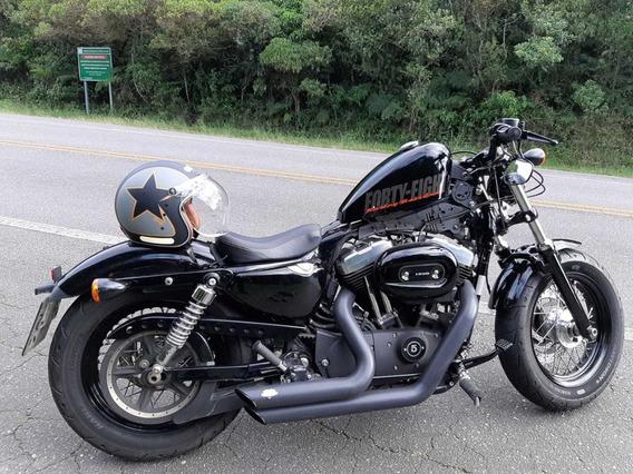 Harley Davidson Sportster Forty Eight 2015 Preta