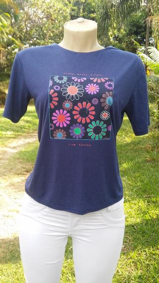 Camiseta/blusa Zara Trafaluc Tam M