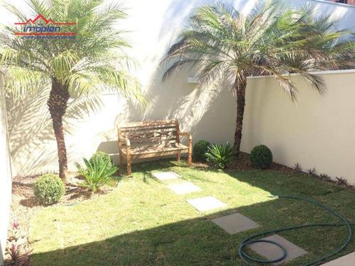 Imagem 1 de 11 de Casa Com 3 Dormitórios À Venda, 110 M² Por R$ 650.000,00 - Jardim Paulista - Atibaia/sp - Ca4572