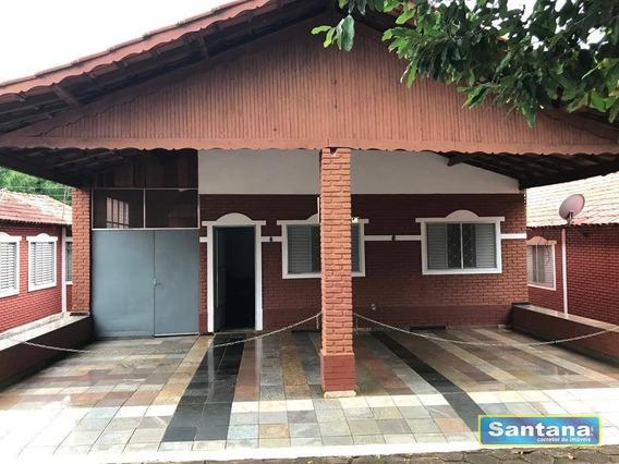 Chale De Laje 4 Dormitórios À Venda, 150 M² Por R$ 128.000 - Mansões Das Águas Quentes - Caldas Novas/go - Ca0097