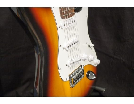 Guitarra Eléctrica Kansas Stratocaster + Soporte Hercules