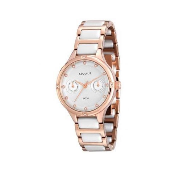 Relógio Feminino Analógico Seculus 20375lpsvrq2