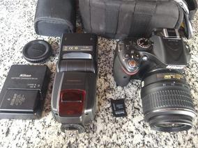 Super Câmera Nikon D5200 + Acessórios