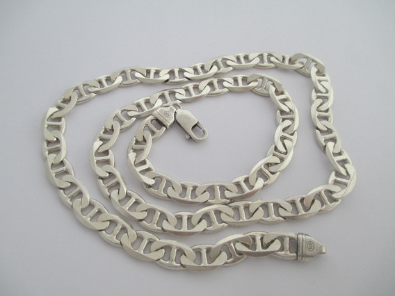 Correntão Masculino De Prata 925 - 61gr - 62 Cm
