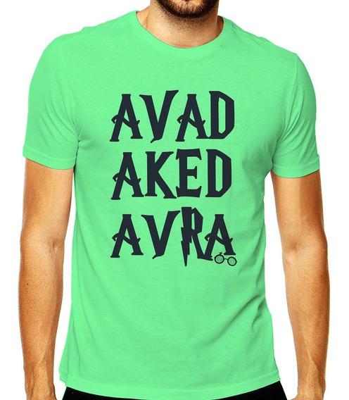Camiseta Avadakedavra Harry Potter Kedavra Avada Masculina