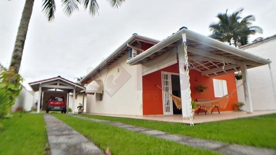 Casa A 150m Da Praia Com Edícula E Terreno De 450m² - Ca01406 - 34871117