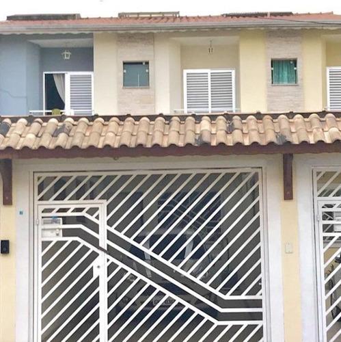 Sobrado Com 3 Dormitórios À Venda, 100 M² Por R$ 640.000,00 - Vila Guilhermina - São Paulo/sp - So2667