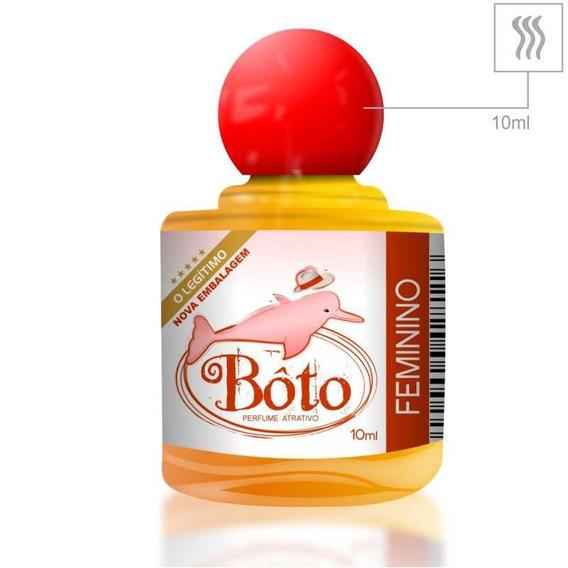 Perfume Afrodisíaco Bôto 10ml - Amarelo