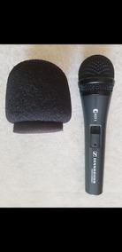 Microfone Sennheiser E825s Original Muito Bem Conservado