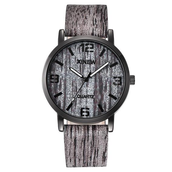Hombres Moda Reloj Muñeca Estudiante Simple Ladrido Patrón C