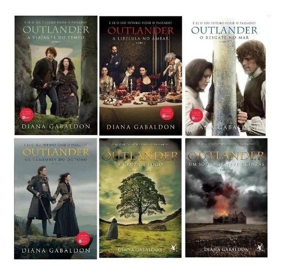 Coleção Série Outlander Completa - 6 Livros