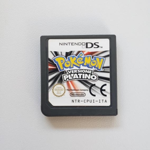 Pokemom Platium Version Original Europeu Nintendo Ds 2ds 3ds