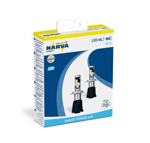 Imagen 1 de 1 de Lamparas Led H4 Narva- Kit