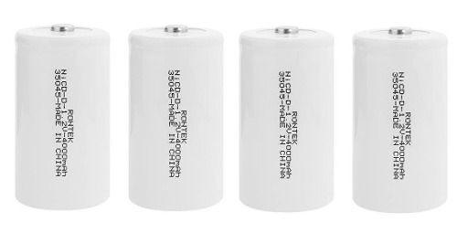 Kit 4 Pilhas Recarregáveis D Aplicador De Herbicida 4000mah