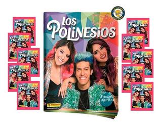 Álbum Los Polinesios + 10 Sobres (50 Estampas) + Envío