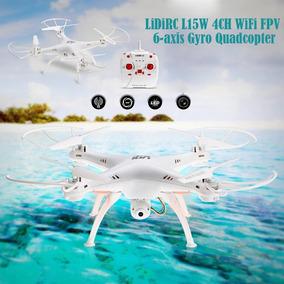 Drone L15w Pro Quadricoptero Câmera Hd(3 Baterias)