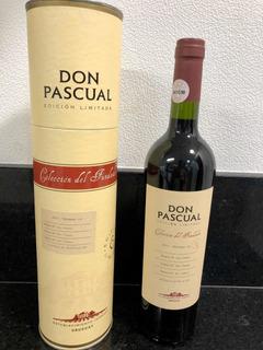 Vinho Shiraz Don Pascual Coleção Do Fundador! Ed. Limitada!