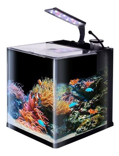 Imagen 1 de 3 de Kit Acuario Nano Reff Arrecife Corales Peces Lomas 18 Litros