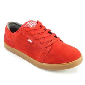 Tênis Qix Skate Allan Mesquita Vermelho 106013