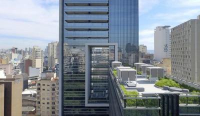 Apartamento Com 1 Dormitório À Venda, 38 M² Por R$ 449.000 - República - São Paulo/sp - Ap0298