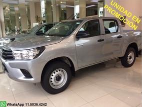 Toyota Hilux 2.4 Cabina Doble Dx 4x2 Entrega Inmediata!!!