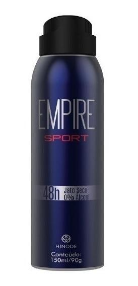 Desodorantes Antitranspirantes Hinode Emire Sport 150 Ml 90g