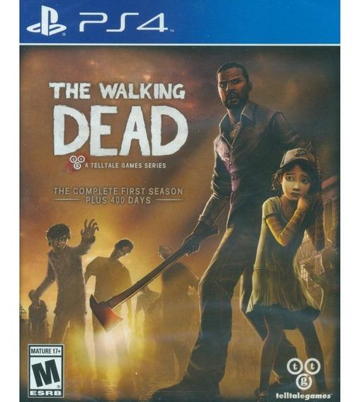 The Walking Dead: Season 1- Ps4 - Nuevo