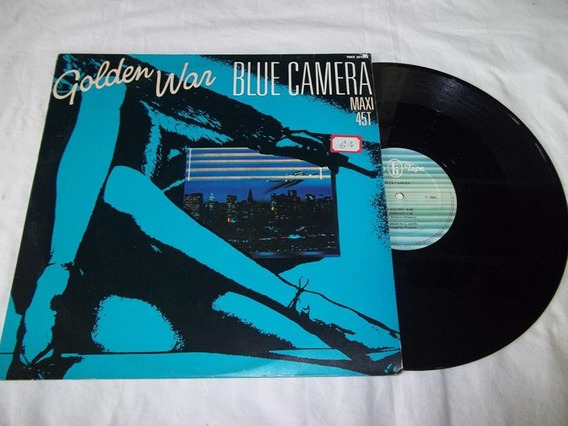 Lp Vinil - Golden War - Blue Camera - Maxi 45t