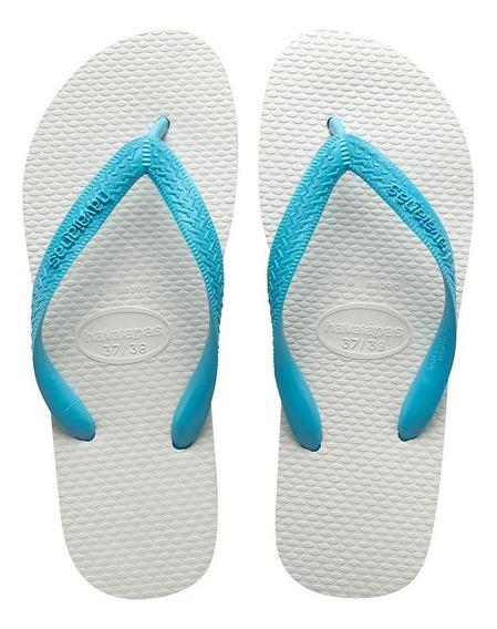 Sandalia Havaianas Tradicional - Preto Ou Azul