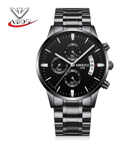 Relógio Nibosi 2309 Novo Promoção Com Caixa