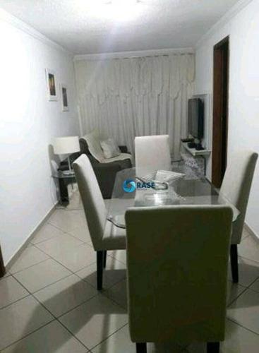 Apartamento Com 3 Dormitórios À Venda, 65 M² Por R$ 218.000,00 - Campo Limpo - São Paulo/sp - Ap0056
