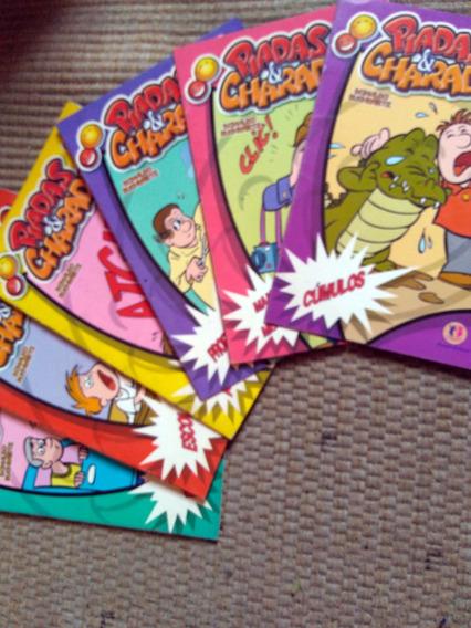 Piadas & Charadas - 6 Livretos - Frete Grátis!!!