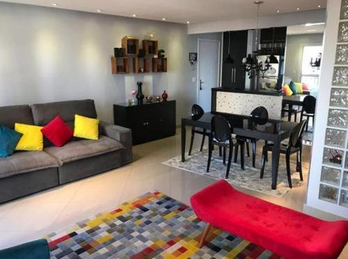 Apartamento Para Venda Em São Paulo, Vila Gumercindo, 3 Dormitórios, 1 Suíte, 2 Banheiros, 2 Vagas - Cap1035_1-1182064