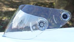 Viseira Cristal Shark S650 S700 S800 S900 + Botões Polivisor