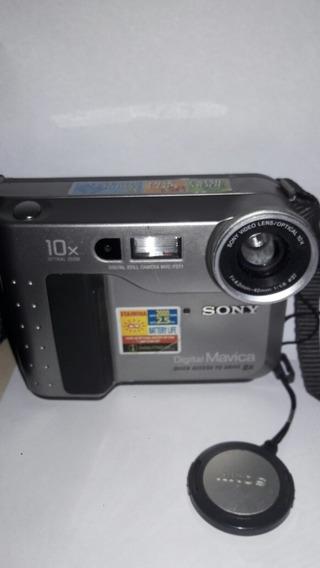 Câmera Fotográfica Sony Mavica Digital Mvc Fd71