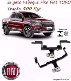 Engate Reboque Fiat Toro Volcano Freedom 4x2 4x4 Homologado