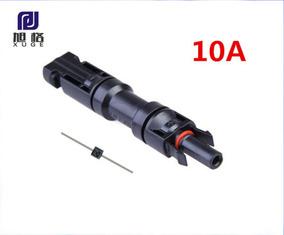 Diodo 10amp Mc4 2.5-6mm2 Para Placa Solar
