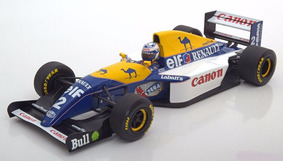 Miniatura Williams Fw15c Prost Campeão 1993 Minichamps 1/18