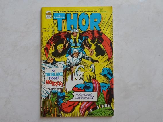 O Poderoso Thor N° 12 Editora Bloch Original