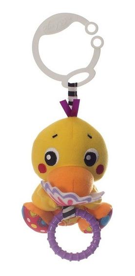 Sonajero Colgante Peek-a-boo Wiggling Duck Playgro Navidad!!