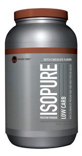 Isopure 3lb Zero Carbo Zero Lactose Puro - Importado