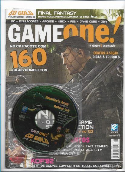 Game One 1 Revista Com Cd 160 Jogos Completos
