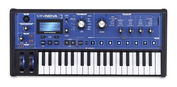 Sintetizador De Audio Novation Mininova 37 Teclas Com Microf