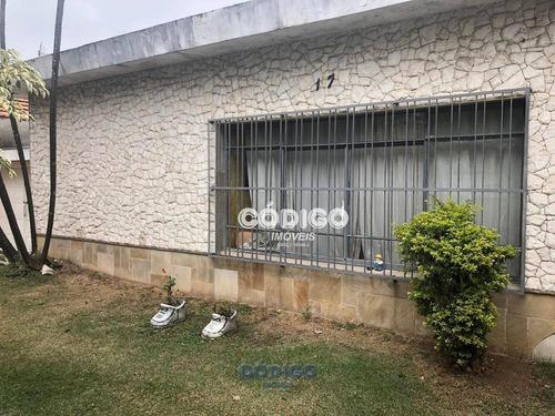 Imagem 1 de 13 de Casa Com 3 Dormitórios À Venda, 364 M² Por R$ 620.000,00 - Ponte Grande - Guarulhos/sp - Ca0631