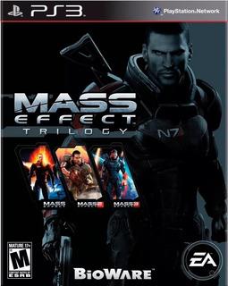 Mass Effect Trilogy Ps3 - No Codigo