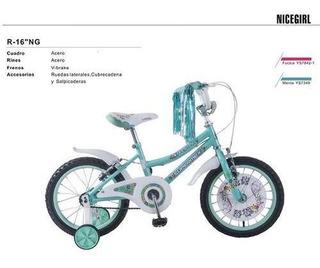 Bicicleta R16 Nice Girl Niña